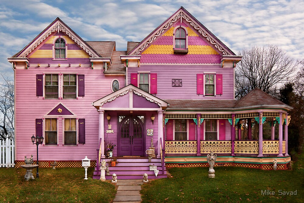 House - Victorian - I love bright colors by Michael Savad