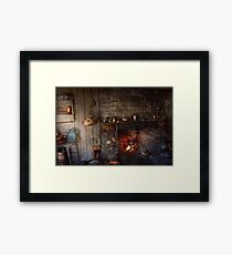Chef - Kitchen - Home for the holidays  Framed Print