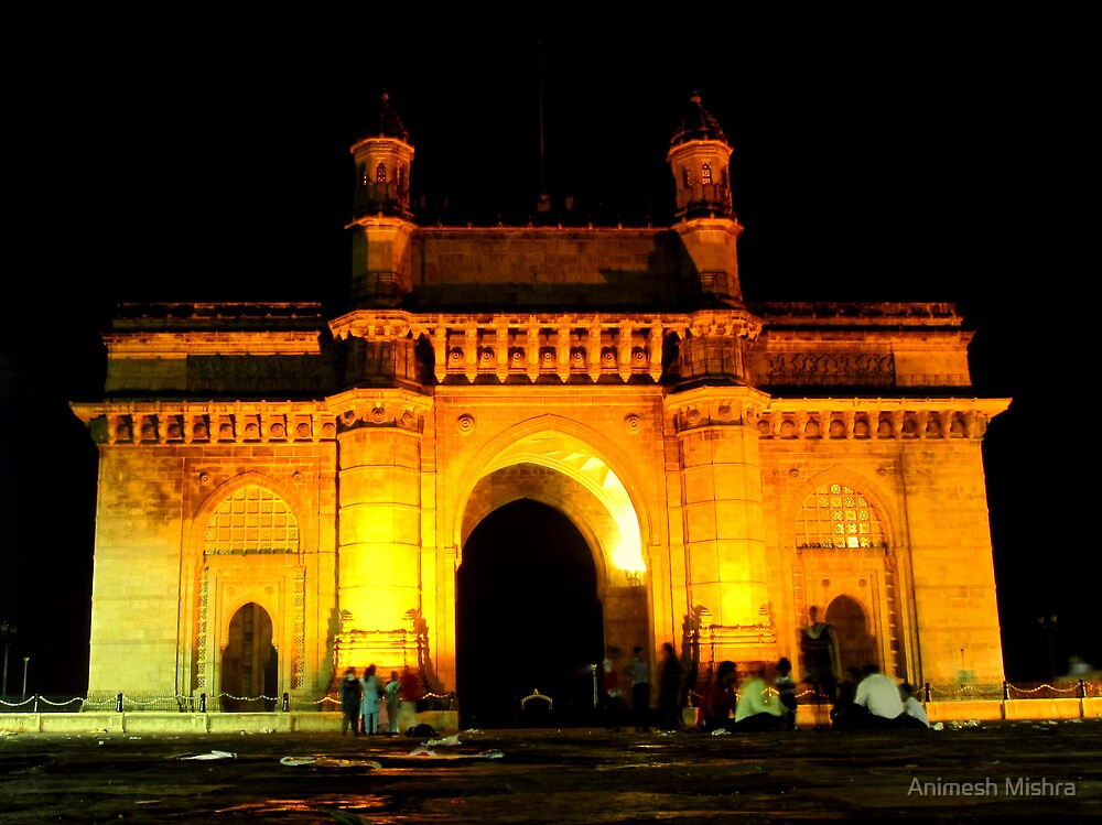 Gateway Of India by Animesh Mishra