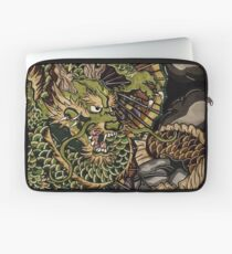 Japanese dragon and koi fish  Laptop Sleeve