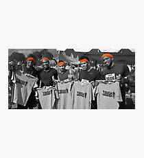 Tough Mudder - Victors Photographic Print