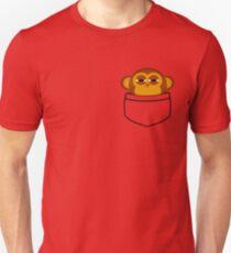 Taschenaffe ist sehr misstrauisch Slim Fit T-Shirt