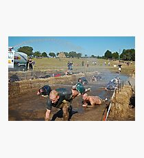 Dirty Mudders Photographic Print
