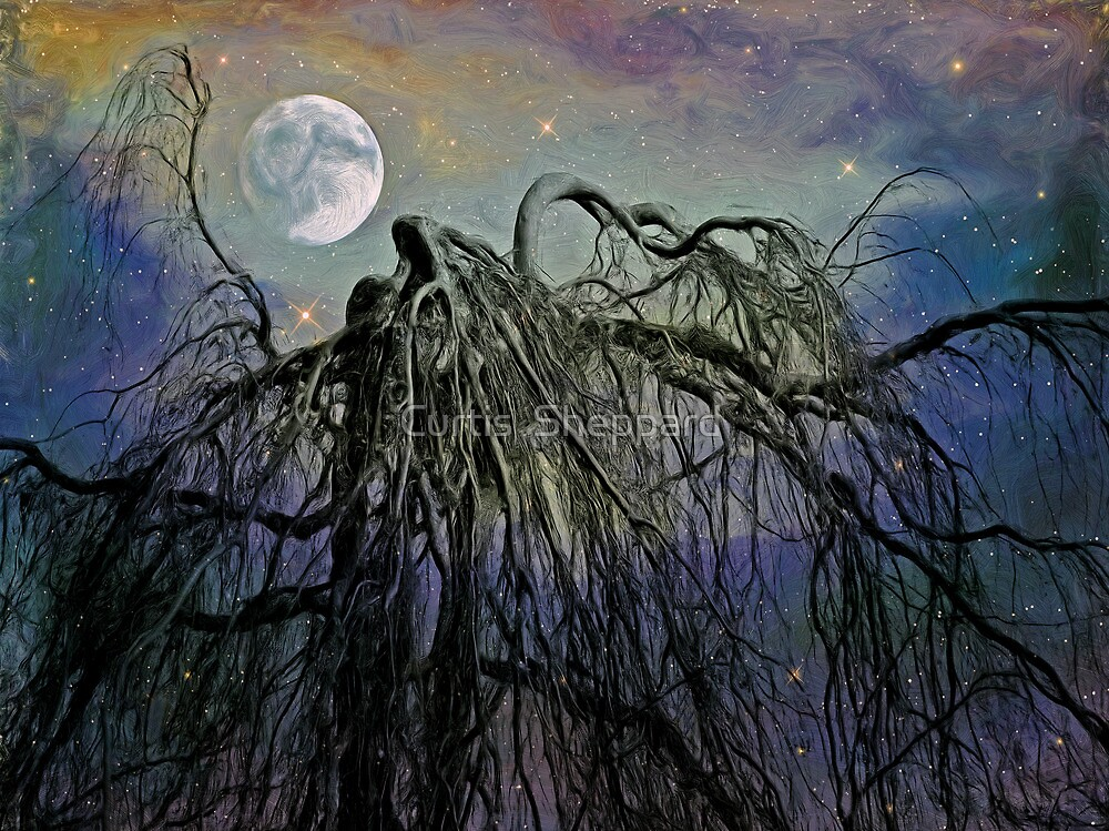 By the Light of the Silvery Moon III  by Curtis  Sheppard
