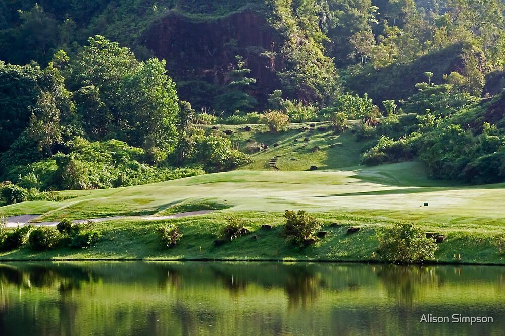 Red Mountain Golf Club, Phuket, Thailand by Alison Simpson