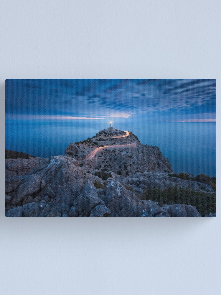 Alternate view of Formentor Lighthouse Canvas Print
