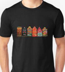 Amsterdam city highlights Unisex T-Shirt