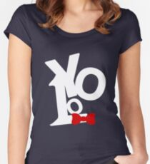"You Only Live Once ""YOLO"" Women's Fitted Scoop T-Shirt"