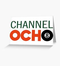 Channel Ocho Greeting Card