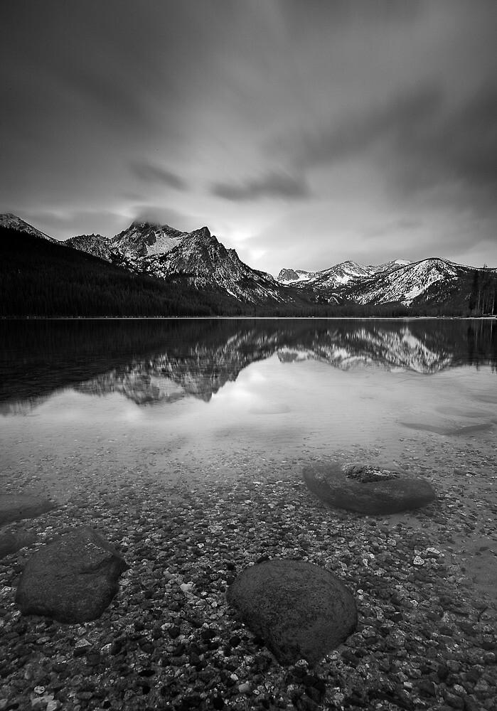 BW Stanley Lake Cropped by Travis Ingle