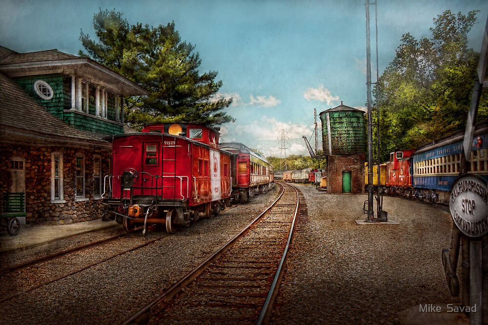 Train - Caboose - Tickets Please by Michael Savad