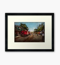 Train - Caboose - Tickets Please Framed Print