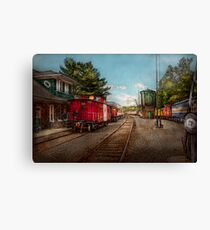 Train - Caboose - Tickets Please Canvas Print