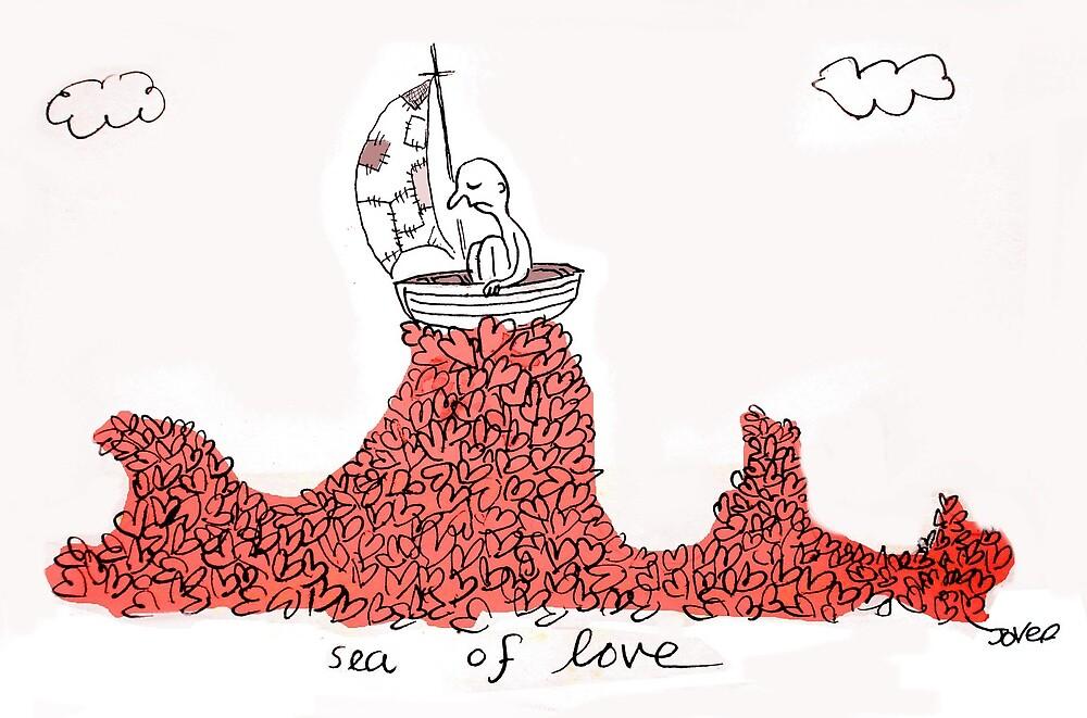 sea of love by Loui  Jover