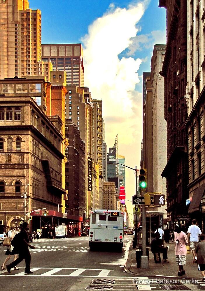 Summer on Seventh Avenue by Forrest Harrison Gerke