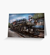 Train - Steam - 385 Fully restored  Greeting Card