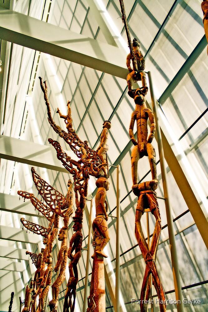 The Met's Oceanic Art Wing by Forrest Harrison Gerke