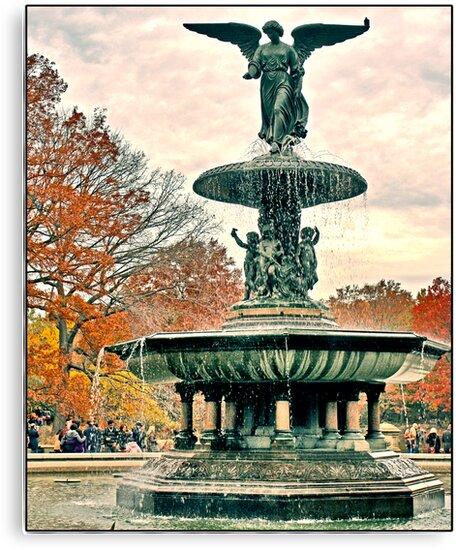 Bethesda Fountain by Forrest Harrison Gerke