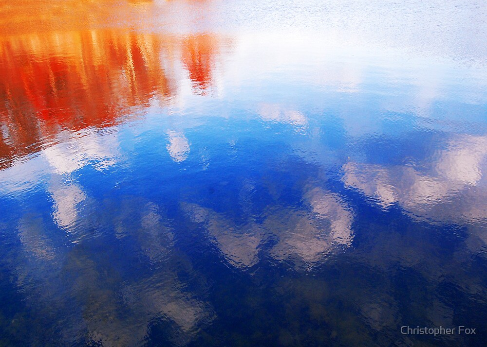 water in the fall by Christopher Fox