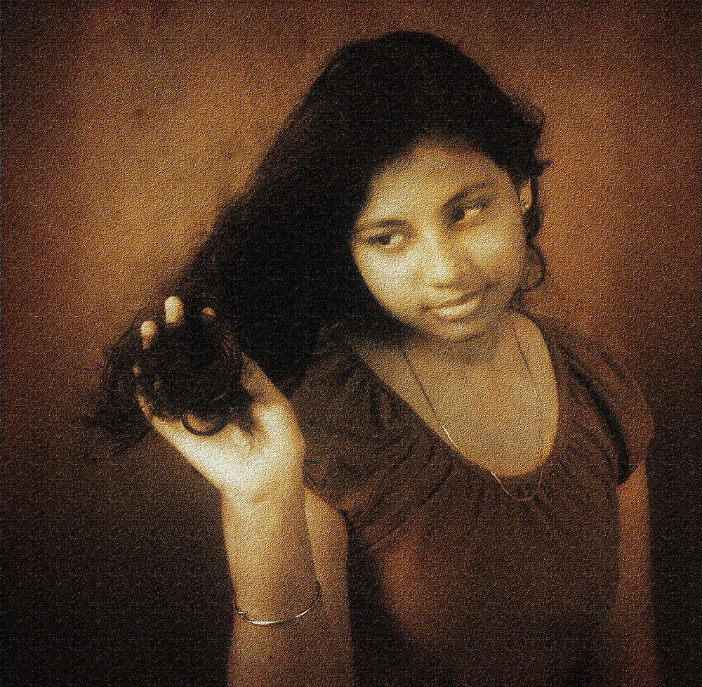 I Love my Black Hair by Mukesh Srivastava