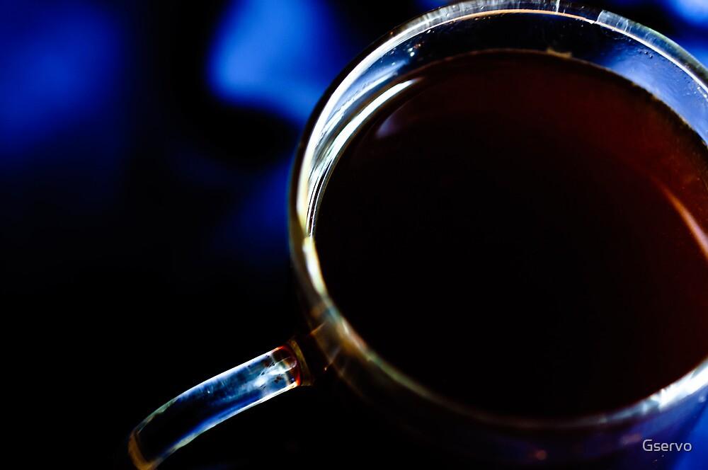 Coffee In Blue  by Gservo