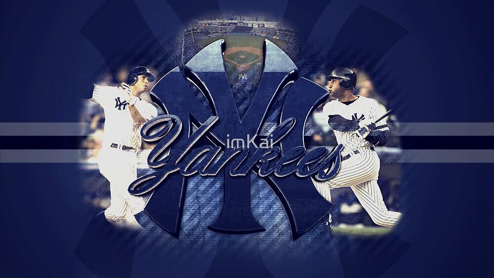 NY Yankees Desktop  by imKai