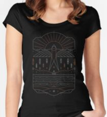The Navigator Women's Fitted Scoop T-Shirt