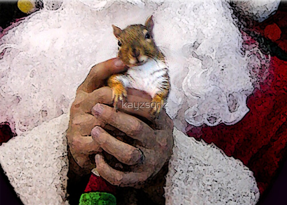 Santa's Hands by kayzsqrlz