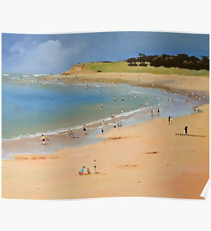 Torquay Front Beach Poster