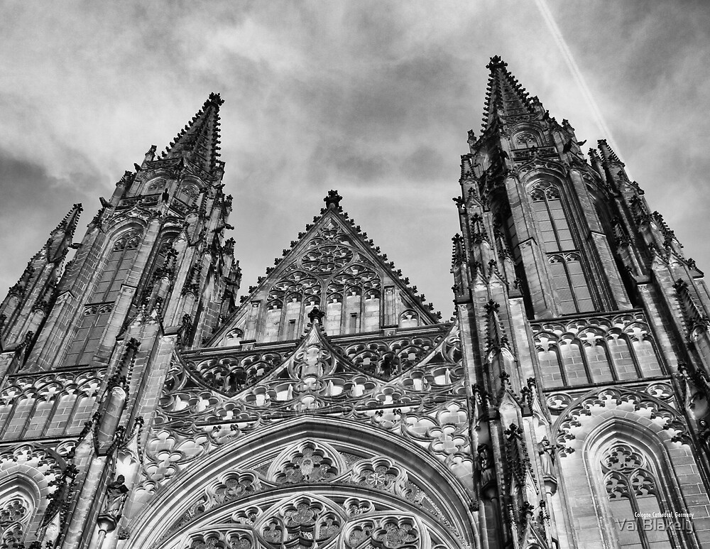 Cologne Cathedral by Val Blakely