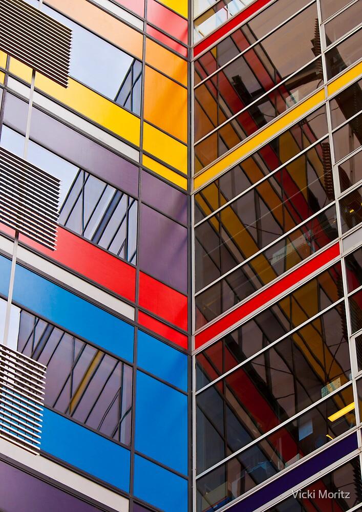 National Australia Bank building, Docklands by Vicki Moritz