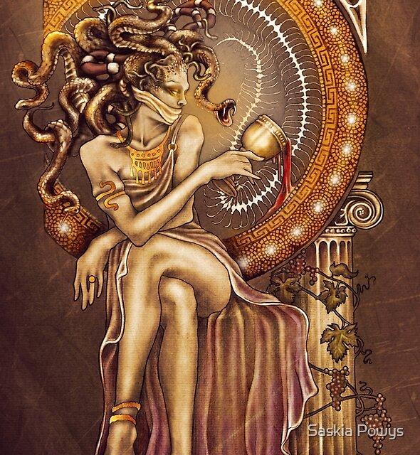 Medusa by Saskia Powys