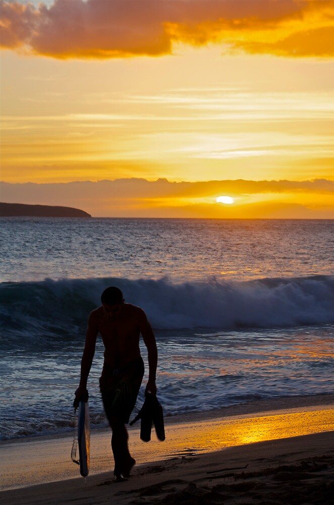 Back from the surf by Sebastian Sayegh