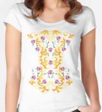 Picnic Corset Women's Fitted Scoop T-Shirt