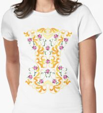 Picnic Corset Women's Fitted T-Shirt