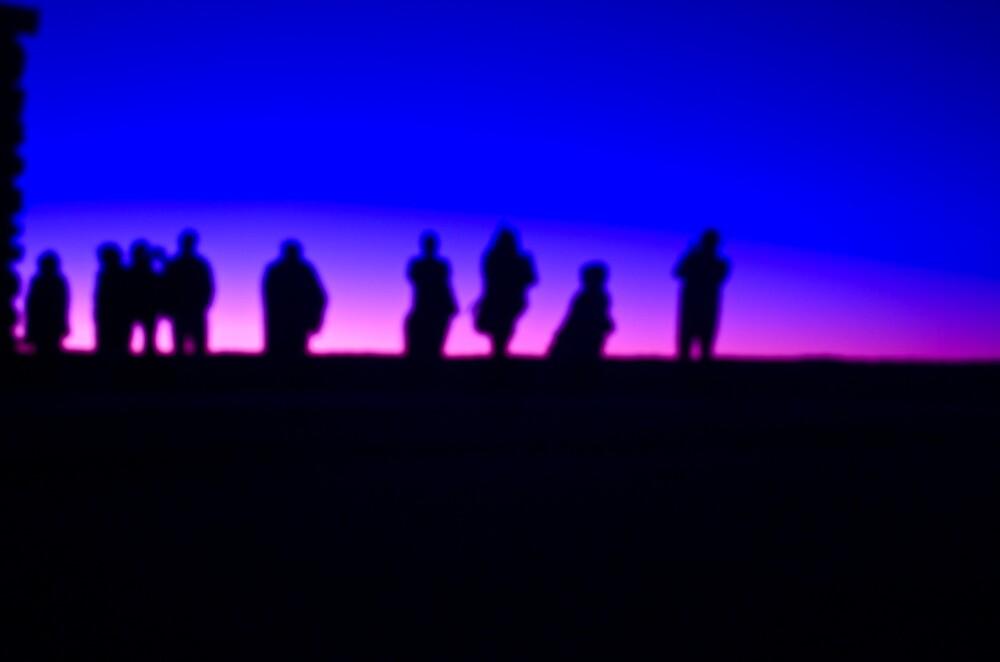 Purple Sunrise by Sebastian Sayegh