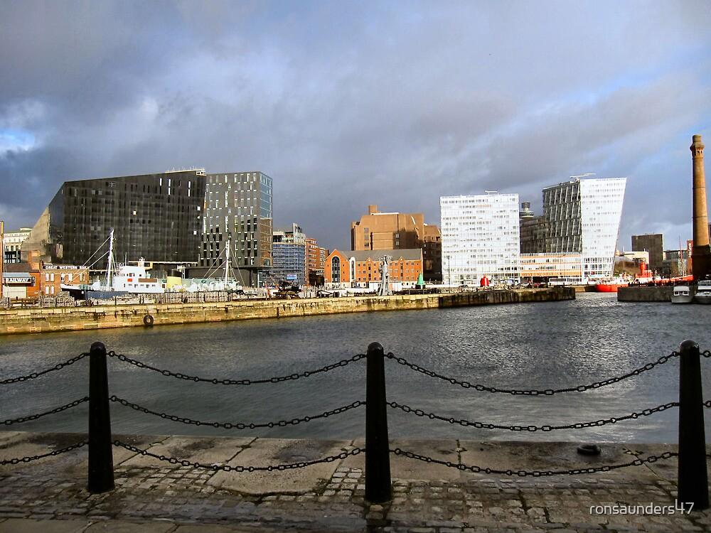 The Albert Dock. Liverpool. UK. by ronsaunders47