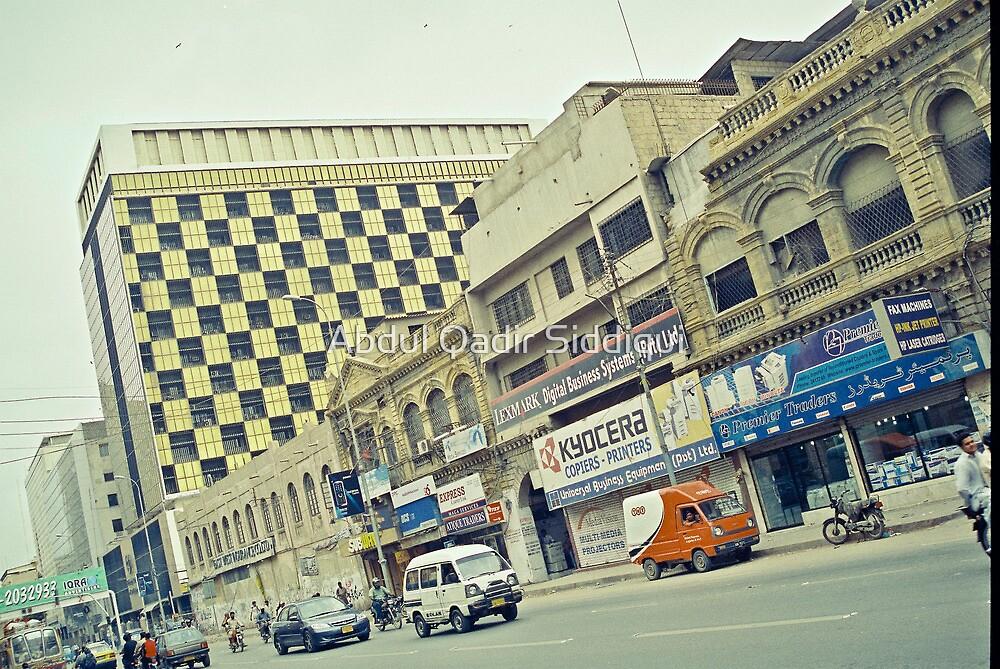 City Scape by Abdul Qadir Siddiqui