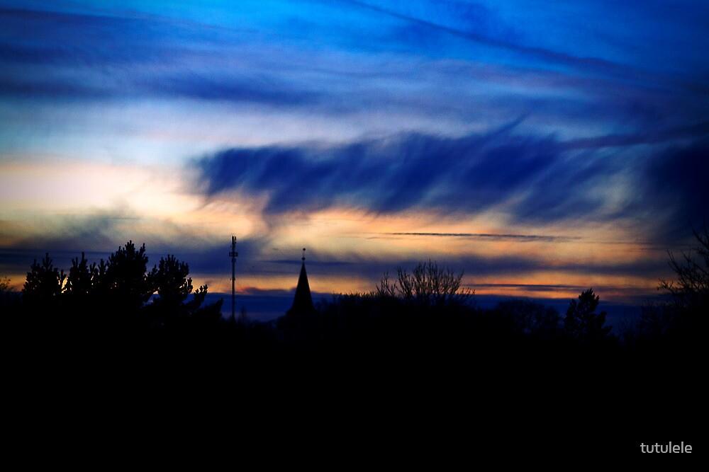 Blue Skies by tutulele