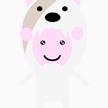 Polar bear by kadiko