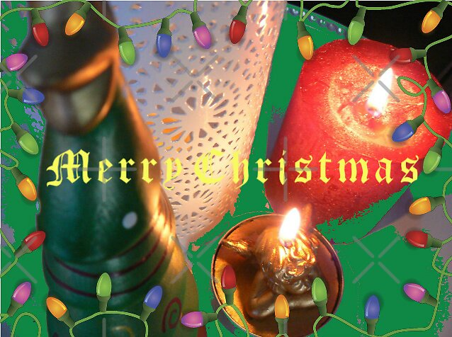 Merry Christmas Card2 by LisaBeth