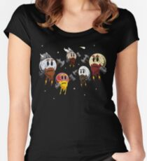 Dwarf Planets Women's Fitted Scoop T-Shirt