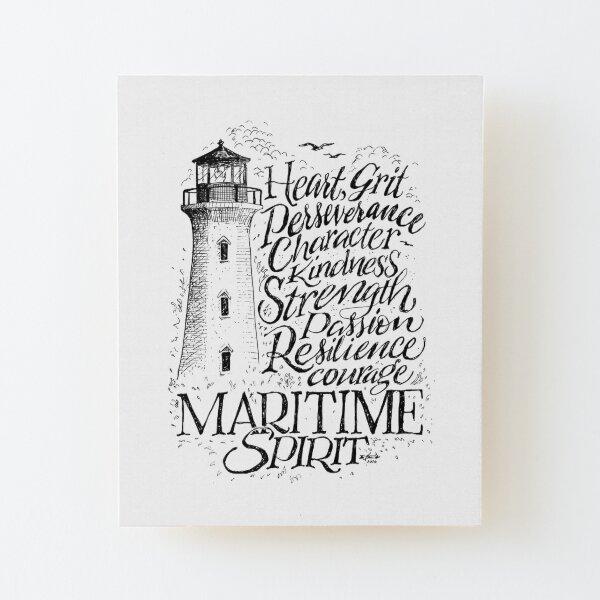 Maritime Spirit Wood Mounted Print