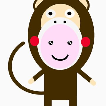 Kim monkey by kadiko