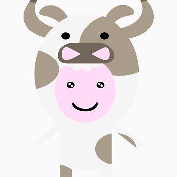 Chloe cow by kadiko