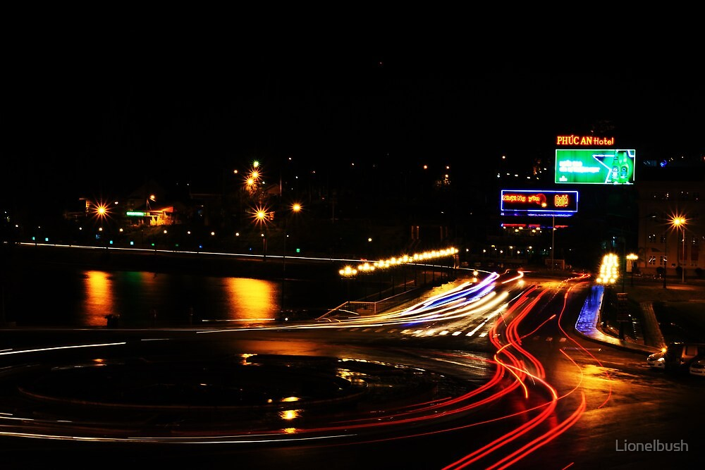 Dalat nights by Lionelbush