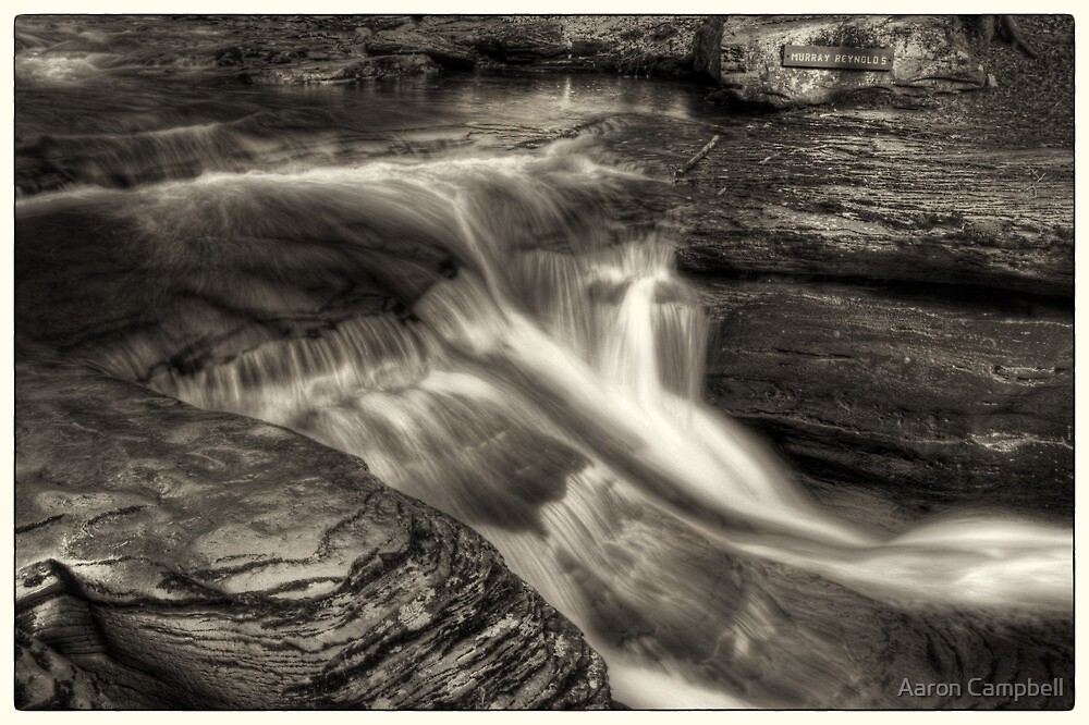 Top of Murray Reynolds Falls by Aaron Campbell