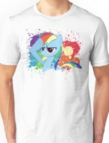 Salute to Rainbow Dash Unisex T-Shirt