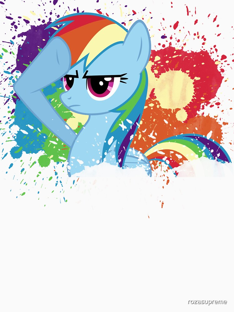 Salute to Rainbow Dash by rozasupreme