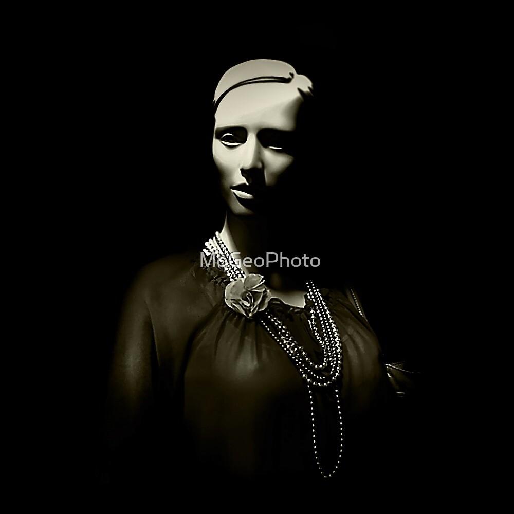 Model (in Monochrome) by MoGeoPhoto